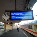 001 (Koblenz) Stralsund – Stahlbrode : guter Start