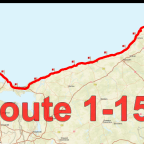 Routenplanung entlang der Ostseeküste