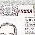 Russland Visum ist da!