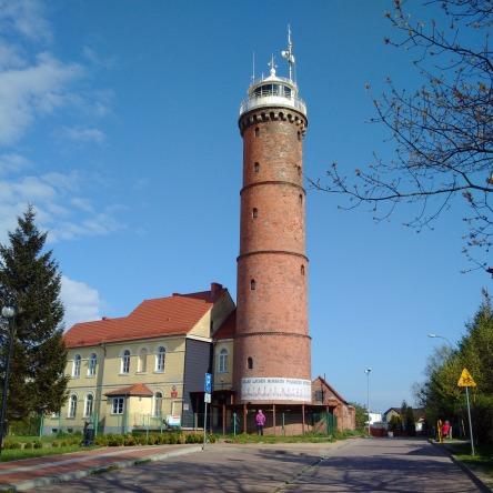 Leuchtturm Jaroslawiec, Polen
