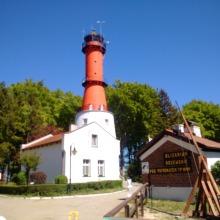 Leuchtturm Rozwie, Polen