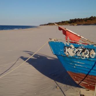 Ostseestrand auf der Halbinsel Hel, Polen