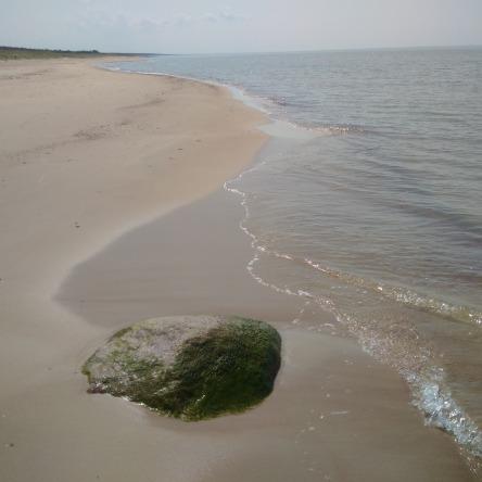 Menschenleerer Ostseestrand im Nationalpark Slitere, Kurzeme, Lettland