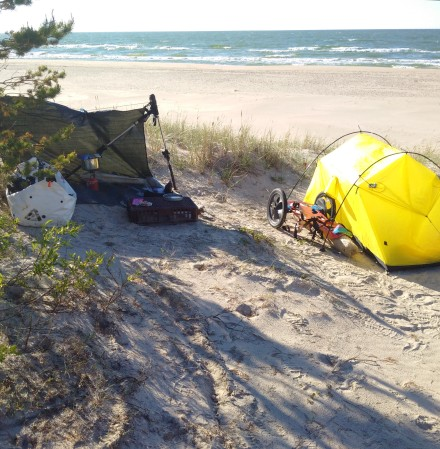 Camp-Ostsee-Lettland