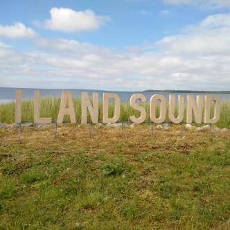 Musikfestival I LAND SOUND auf Saaremaa, Estland im Sommer