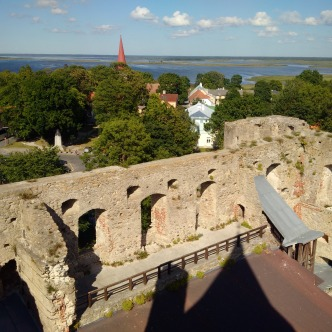 Burgmauern Haapsalu, Estland