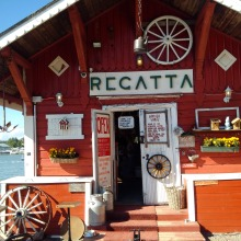 Café Regatta in Helsinki, Finnland