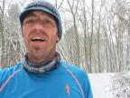 Laufen im Schnee (ist schön)